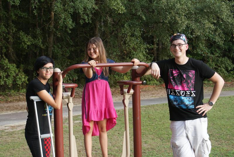 Zoe, Trinity, Tyler
