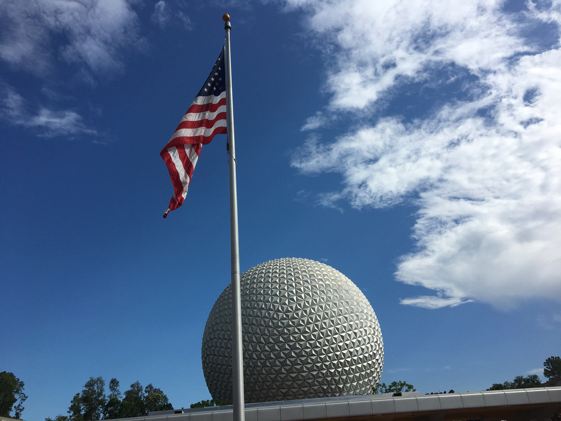 4th of July at Epcot