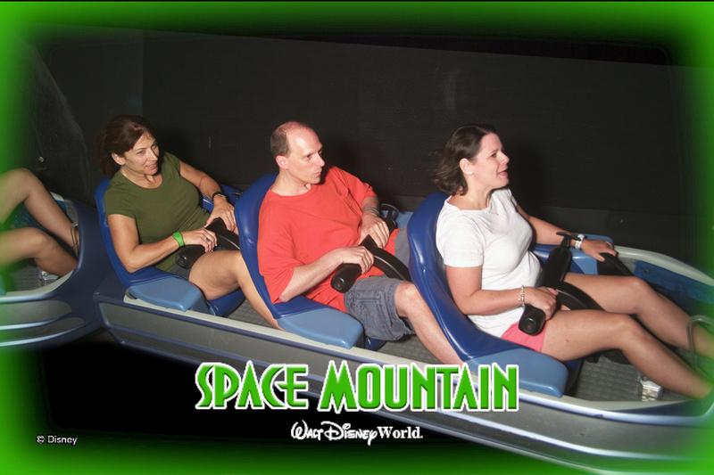 riding Space Mountain