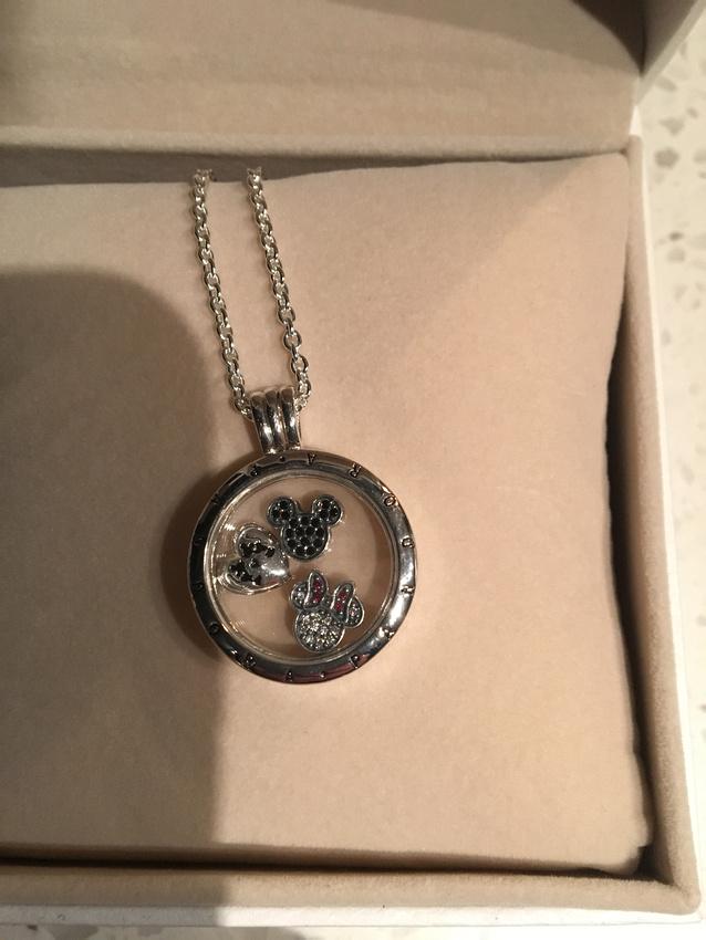 my final Christmas gift- Pandora disney necklace