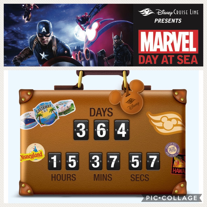 changed our cruise- countdown is on