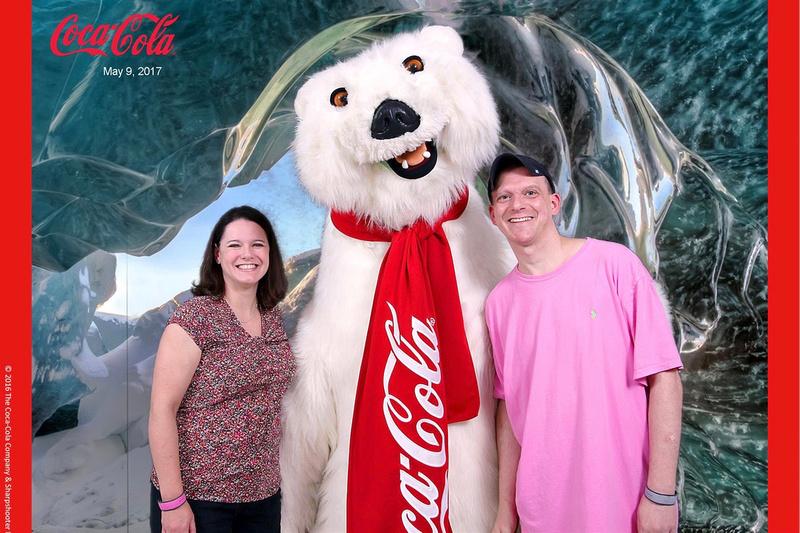 fun with coca cola bear
